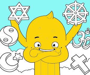 Coloriages Religion à imprimer