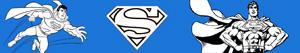 Coloriages Superman à colorier