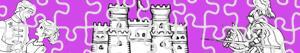 Coloriages Puzzles de Aventures à colorier