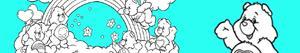 Coloriages Bisounours - Calinours à colorier
