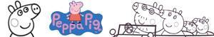 Coloriages Peppa Pig à colorier