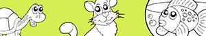 Coloriages Animaux de compagnie à colorier