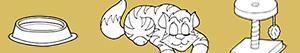 Coloriages Chaton. Jeune chat à colorier