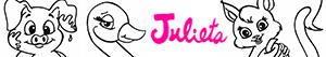 Coloriages Les animaux de Julieta  à colorier