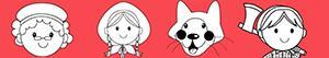 Coloriages Matériel pour Le Petit Chaperon rouge à colorier